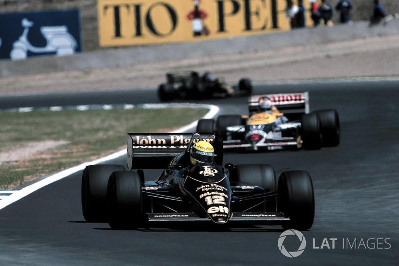 Ayrton Senna, Lotus 98 d