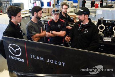 Mazda-Test in Daytona