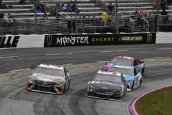 Corey LaJoie, BK Racing Toyota, David Ragan, Front Row Motorsports Ford