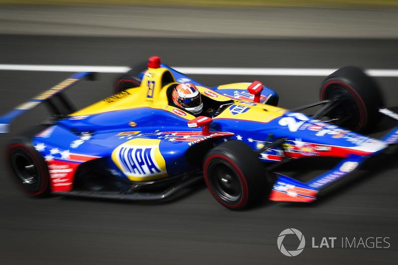 4. Alexander Rossi, Andretti Autosport, Honda