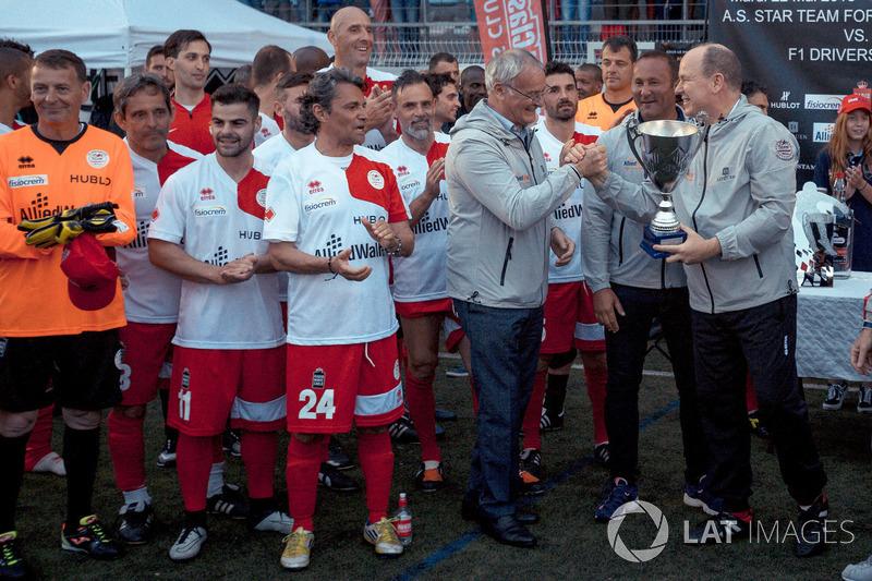 Claudio Ranieri, ve Monaco Prensi Albert