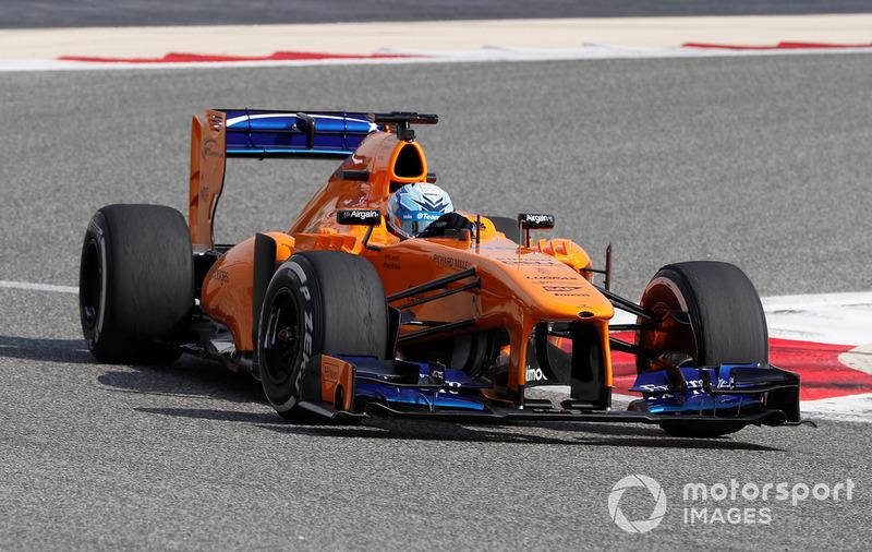 Jimmie Johnson en el McLaren