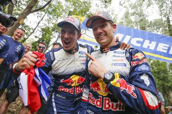 Los campeones del mundo 2018: Sébastien Ogier, Julien Ingrassia, Ford Fiesta WRC, M-Sport Ford