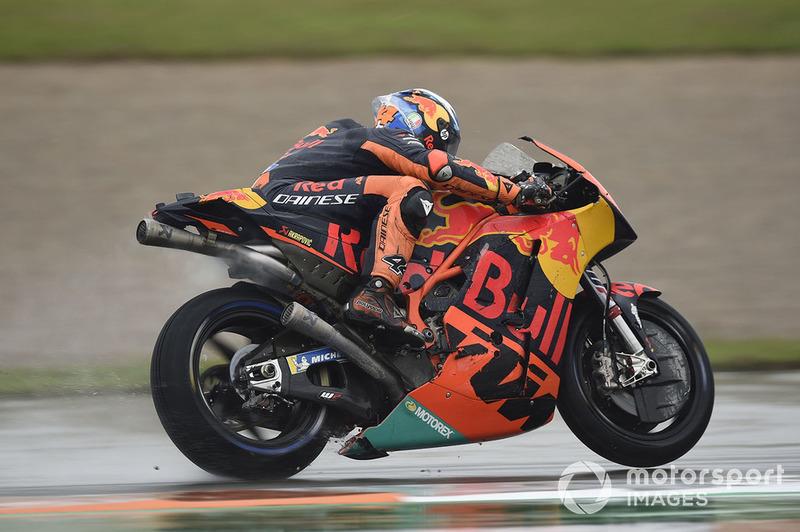 Пол Еспаргаро, Red Bull KTM Factory Racing, після аварії
