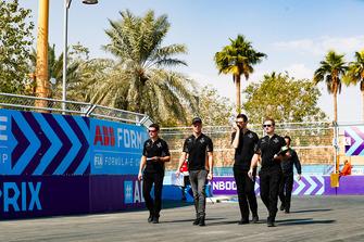 Ознакомление с трассой: Андре Лоттерер, DS Techeetah Formula E Team