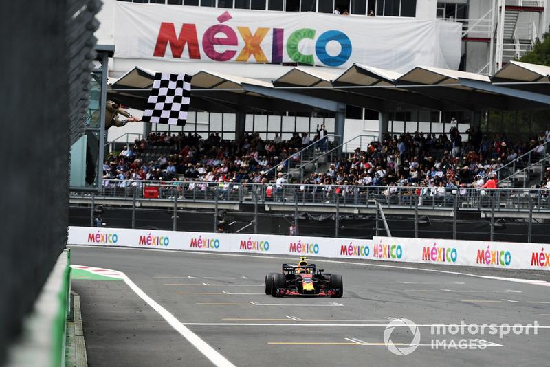 Mexique - Vainqueur : Max Verstappen