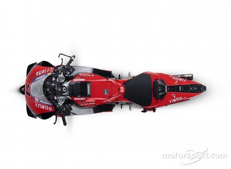 De nieuwe Ducati-livery voor 2019