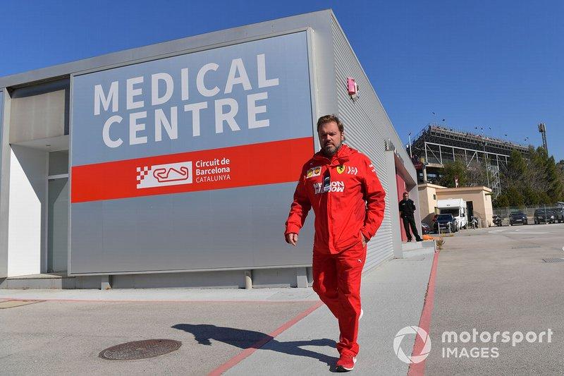 Gino Rosato, Ferrari at the Medical Centre