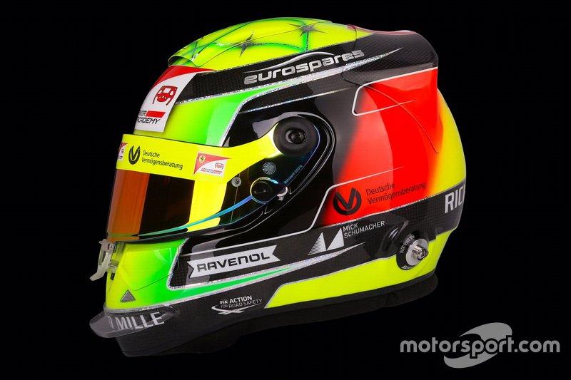 Casco de Mick Schumacher, Prema Racing