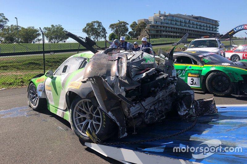 Black Swan Racing Porsche 911 GT3-R: Tim Pappas, Jeroen Bleekemolen, Marc Lieb