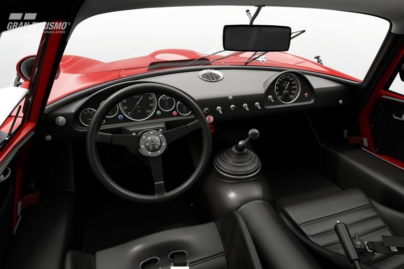 Alfa Romeo GIULIA TZ2 carrozzata da ZAGATO CN.AR750106 '65