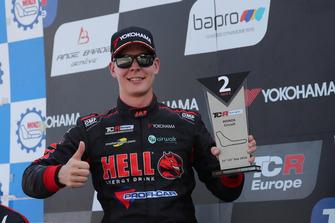Podium: Josh Files, Hell Energy Racing with KCMG Honda Civic Type R TCR