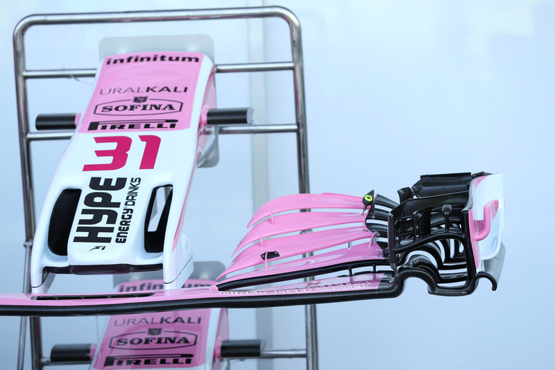 Racing Point Force India VJM11, első szárny
