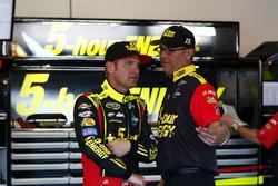 Clint Bowyer, HScott Motorsports Chevrolet, Steve Addington
