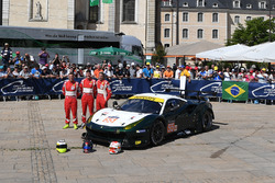 №55 Spirit of Race Ferrari 488 GTE: Данкан Кэмерон, Аарон Скотт, Марко Чьочи