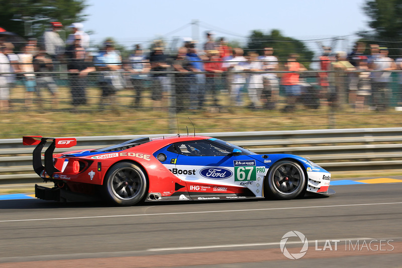 9. GTE-Pro: #67 Ford Chip Ganassi Racing, Ford GT