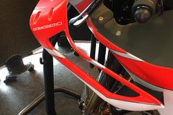 Ducati Team grenaj detayı