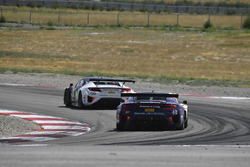 #93 RealTime Racing Acura NSX GT3: Peter Kox, Mark Wilkins, #43 RealTime Racing Acura NSX GT3: Ryan Eversley, Tom Dyer