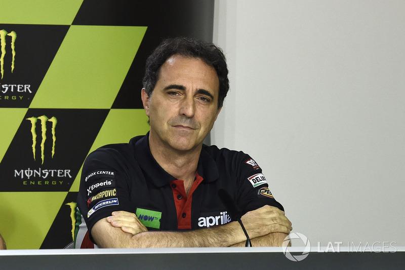 Romano Albesiano, Aprilia Racing Team Gresini
