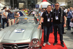 Roberto Chinchero, Bernd Maylander, Mercedes-Benz 300 SL Coupé W198