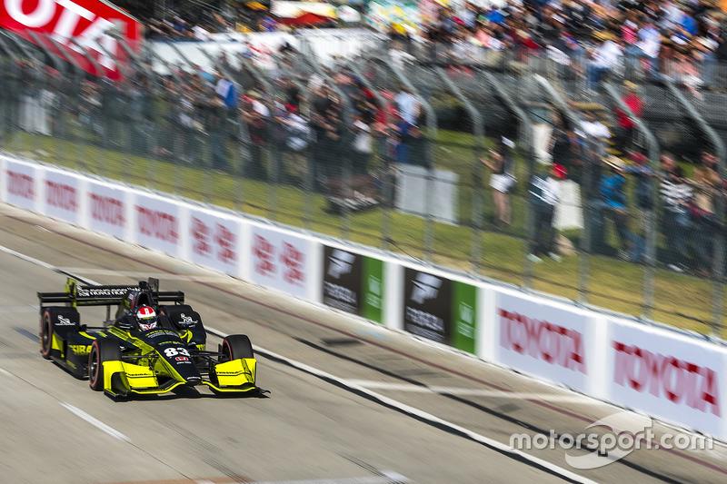 Charlie Kimball, Chip Ganassi Racing. Honda