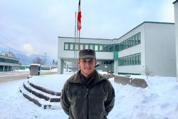 Christian Klien beim Österreichischen Bundesheer