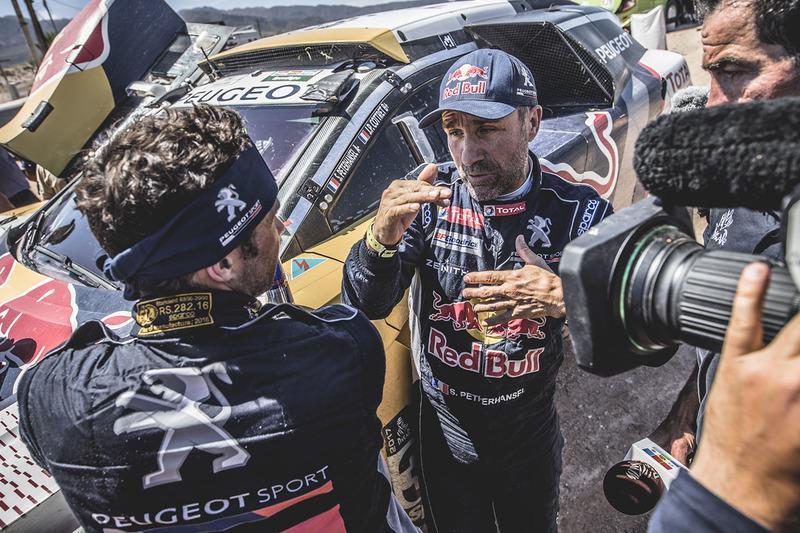 Stéphane Peterhansel, Cyril Despres, Peugeot Sport