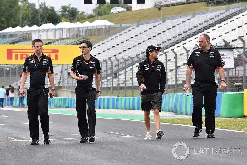 Sergio Perez, Force India F1