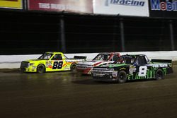 John Hunter Nemechek, SWM-NEMCO Motorsports Chevrolet, Ty Dillon, MDM Motorsports Chevrolet, Matt Crafton, ThorSport Racing Toyota