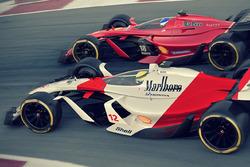 Designstudien: McLaren und Ferrari 2025