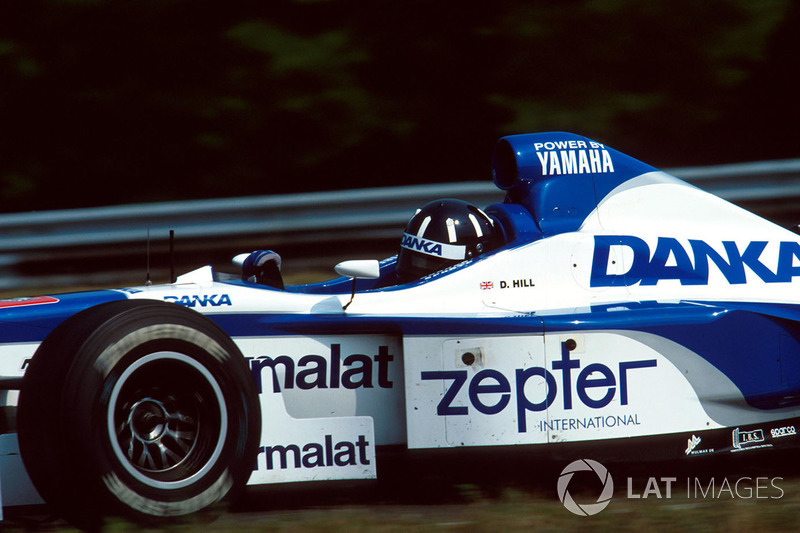 Damon Hill, Arrows Yamaha A18