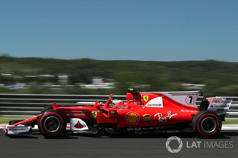 Kimi Raikkonen, Ferrari SF70-H, olas