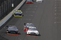 Michael Annett, JR Motorsports Chevrolet, Joey Logano, Team Penske Ford