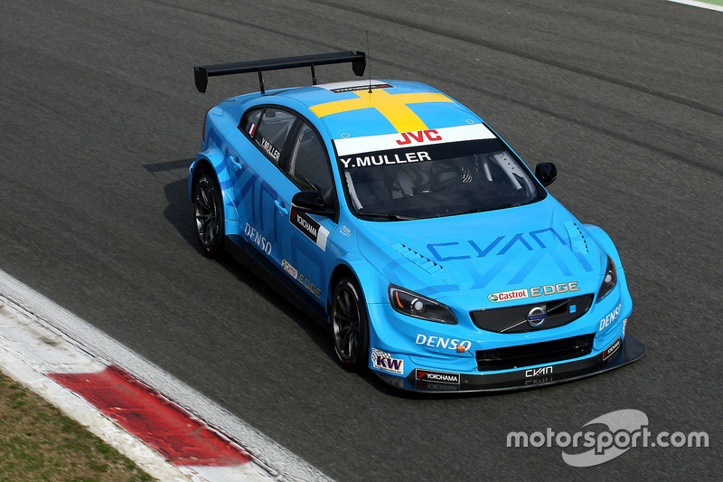 Yvan Muller, Polestar Cyan Racing, Volvo S60 Polestar TC1, piloto de prueba