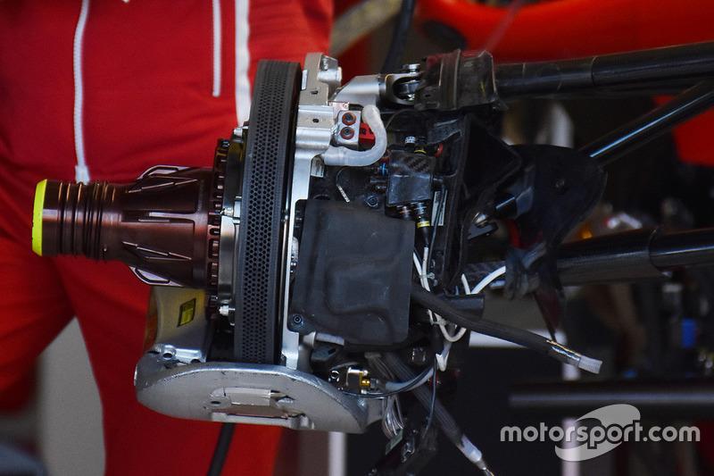 Ferrari SF70H гальма