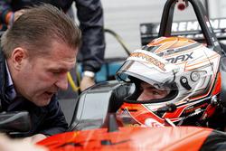 Jos Verstappen y Max Verstappen, Van Amersfoort Racing Dallara F312 - Volkswagen