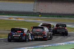 Petter Solberg, PSRX Volkswagen Sweden, VW Polo GTi, Guerlain Chicherit, GCK, Renault Clio