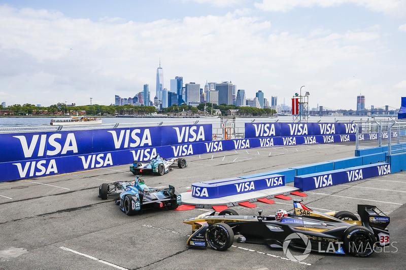 Robin Frijns, Amlin Andretti Formula E Team,  Nelson Piquet Jr., NEXTEV TCR Formula E Team, Stéphane Sarrazin, Techeetah