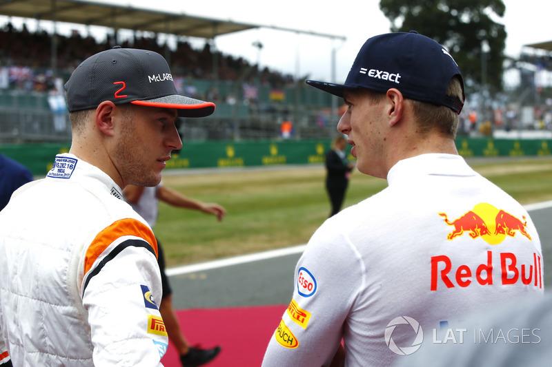 Stoffel Vandoorne, McLaren, Max Verstappen, Red Bull