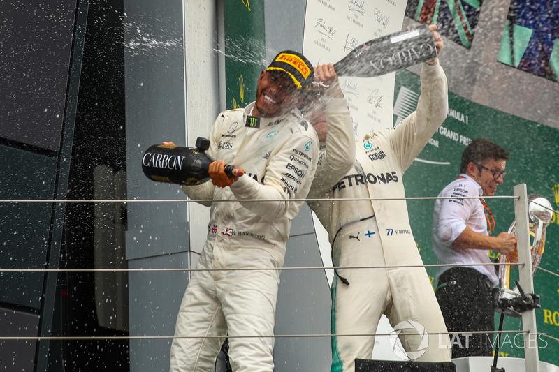 Льюіс Хемілтон, Валттреі Боттас, Mercedes AMG F1
