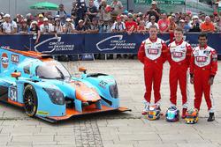 رقم 34 فريق توكويث موتورسبورت ليجييه جي اس بي217: نايجل موور، فيليب هانسون، كارون شاندوك