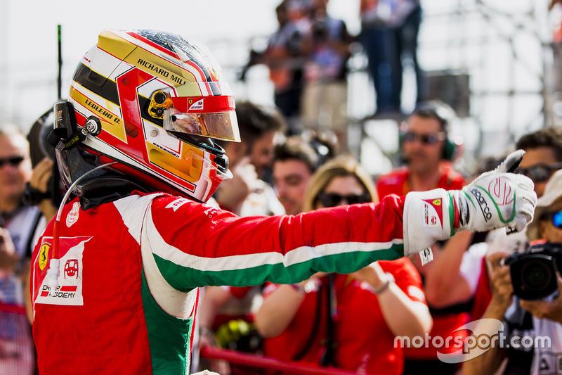 Race winner Charles Leclerc, PREMA Racing