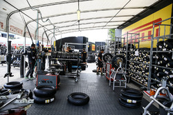 Pirelli tyre bay