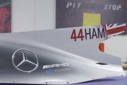 Mercedes AMG F1 W08 von Lewis Hamilton