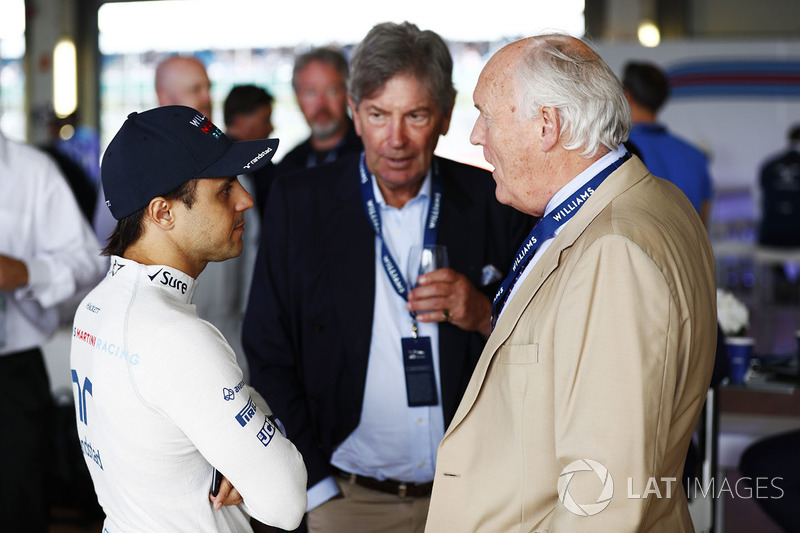 Феліпе Масса, Williams, разом з гостями під час святкування 40 років команди