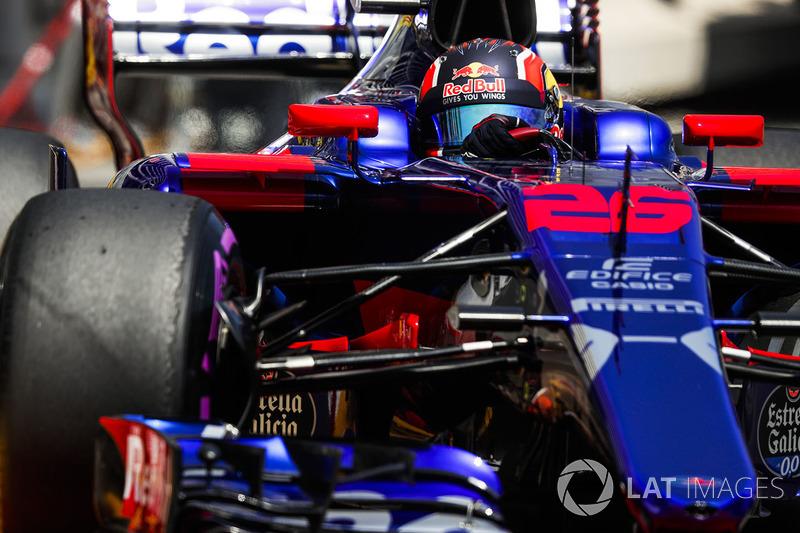 10 місце — Данііл Квят, Toro Rosso. Умовний бал — 10,358