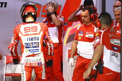 Jorge Lorenzo, Ducati Team and Luigi Dall'Igna, Ducati Team