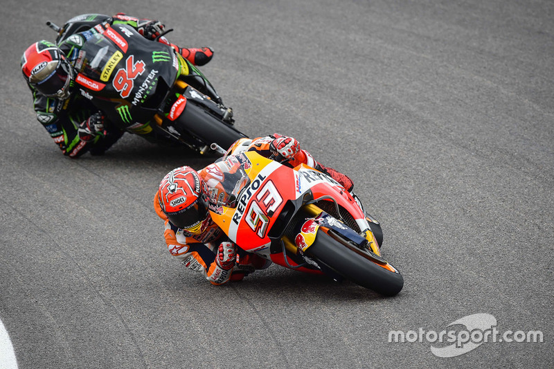 Marc Márquez, Repsol Honda Team, Jonas Folger, Monster Yamaha Tech 3