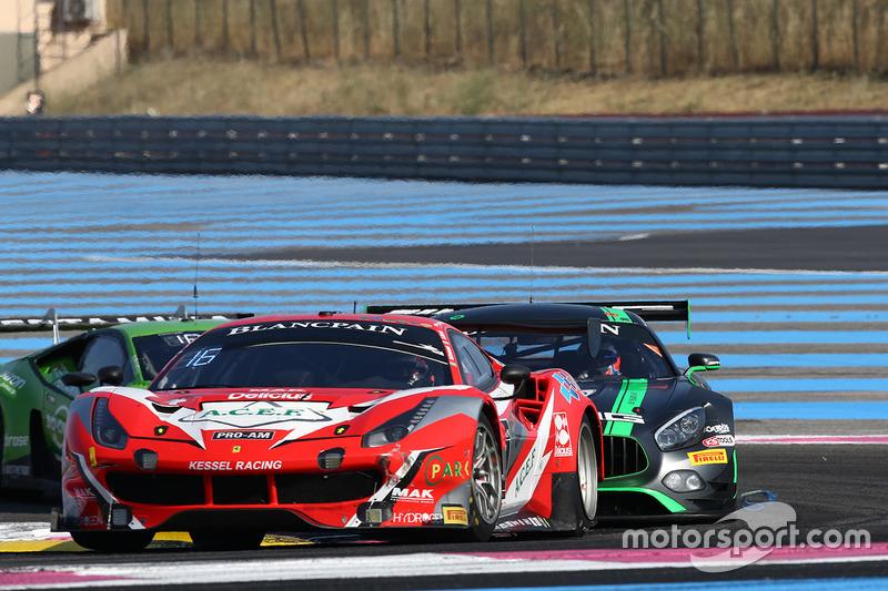 #888 Kessel Racing Ferrari 488 GT3: Jacques Duyver, Marco Zanuttini, David Perel
