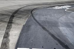Reifenspuren von 1. Jimmie Johnson, Hendrick Motorsports, Chevrolet